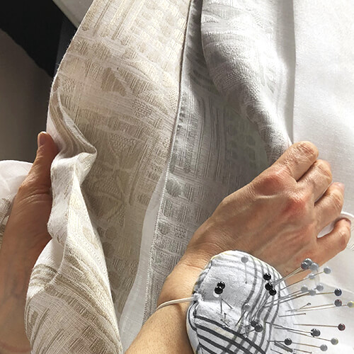 cucire tenda